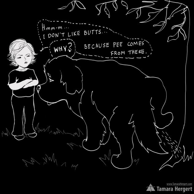 Big Paw comics by Tamara HergertHergert.