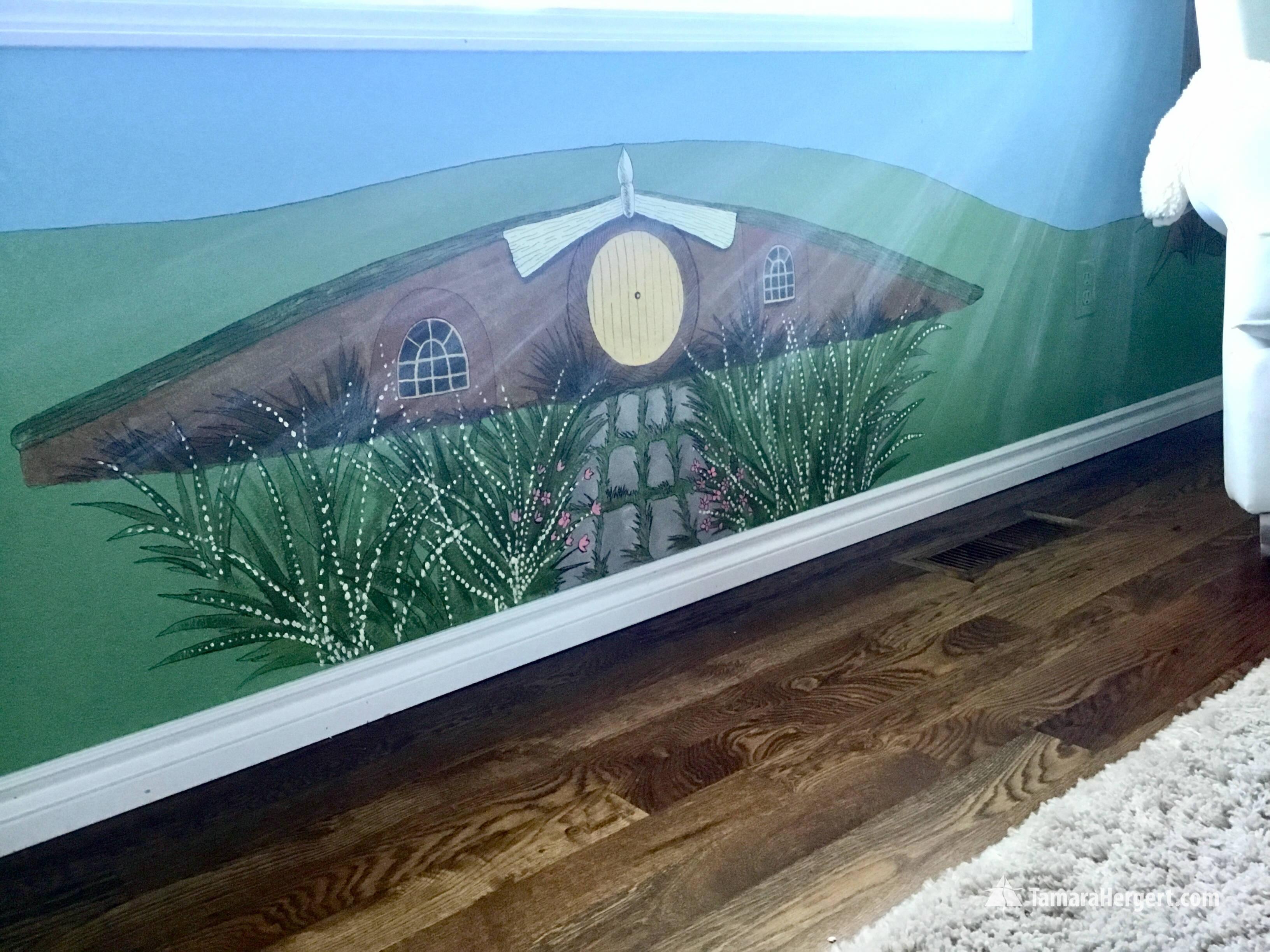 Story book mural by Tamara Hergert 5