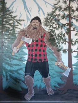 Axekickers mural by Tamara Hergert 4