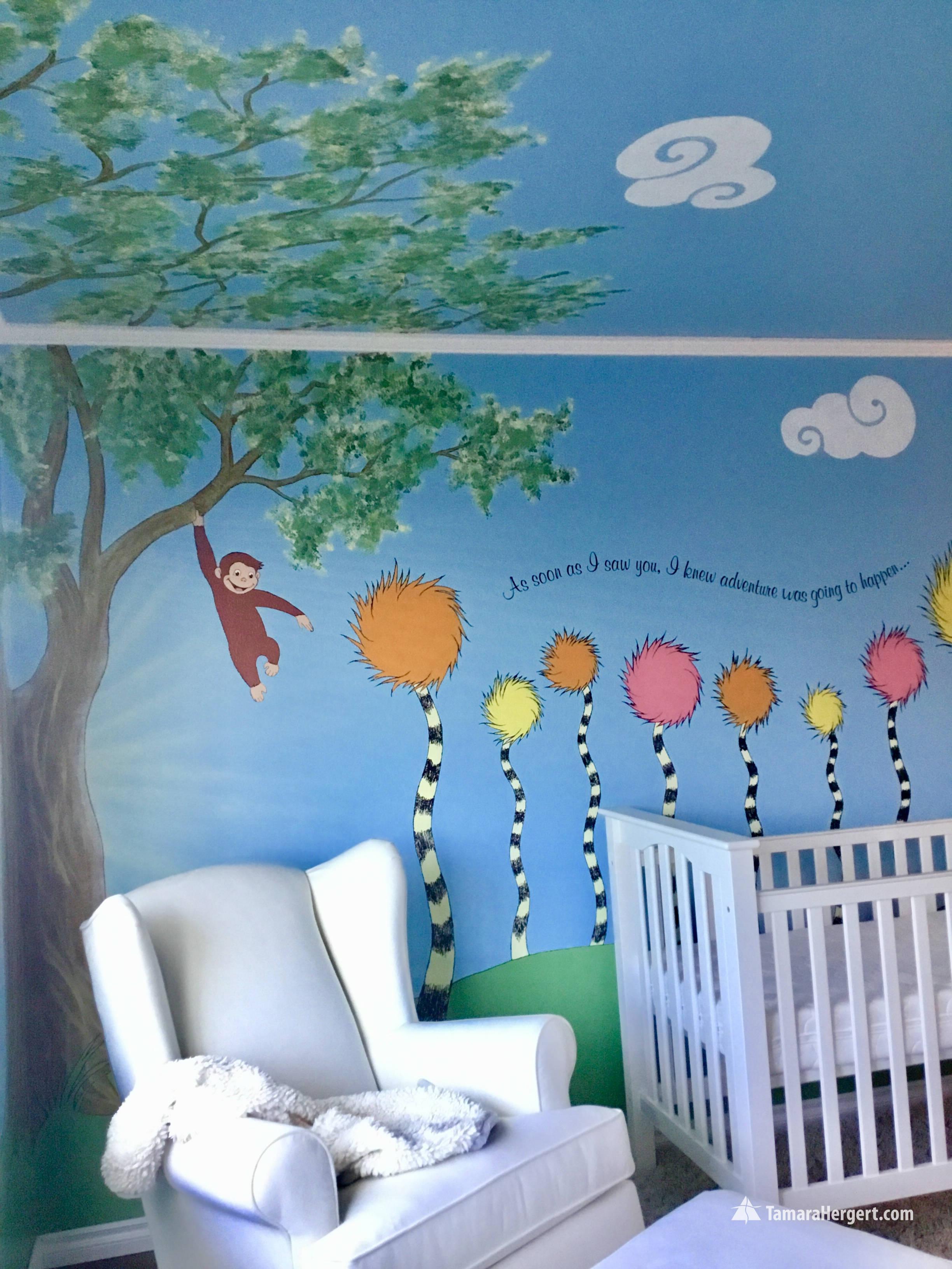 Story book mural by Tamara Hergert 9