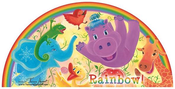 Rainbow Colors book by Tamara Hergert -