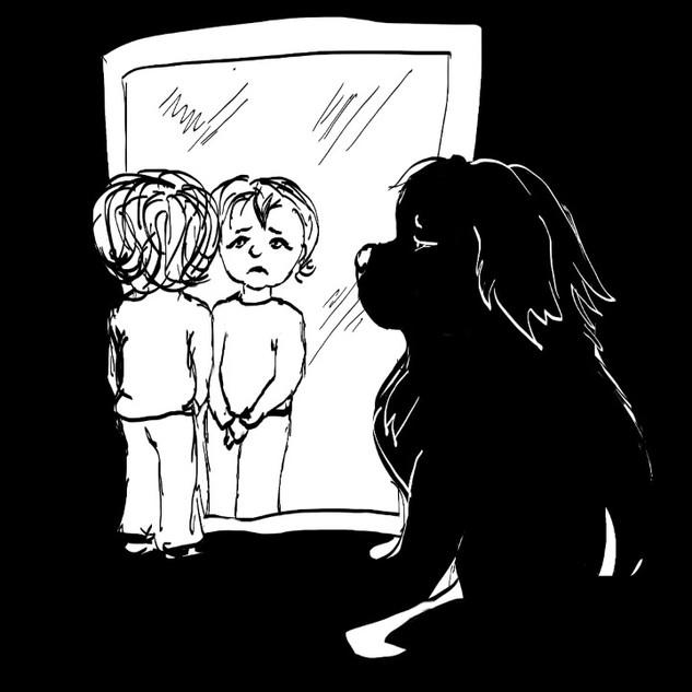 Big Paw 3 Comic timelapse by Tamara Herg