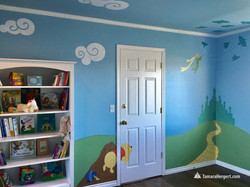 Story book mural by Tamara Hergert 18