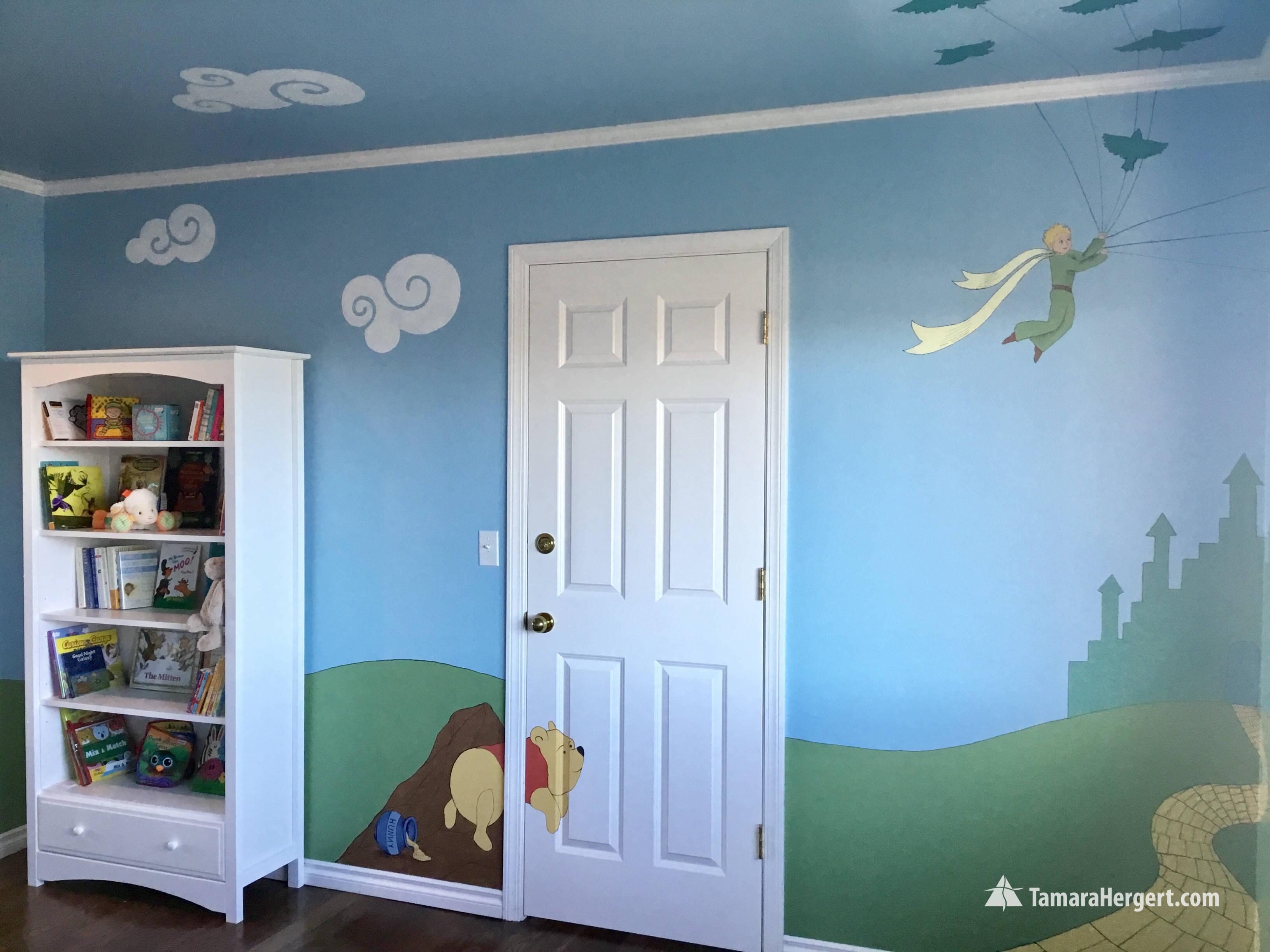 Story book mural by Tamara Hergert 25