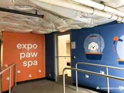 Expo Pet Spa mural 1