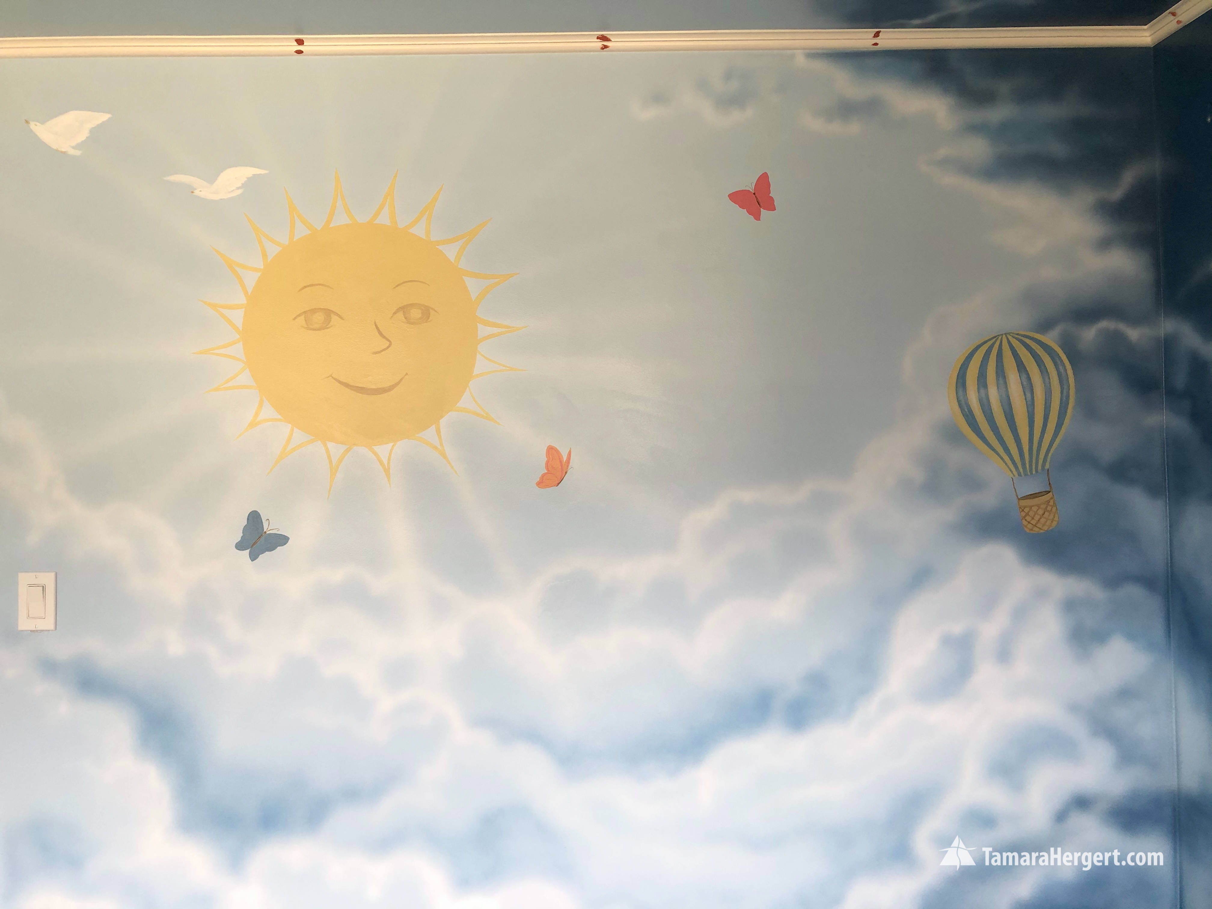 Night and Day mural by Tamara Hergert 16