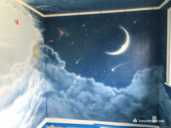 Night and Day mural by Tamara Hergert 15