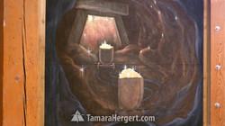Mining mural by Tamara Hergert