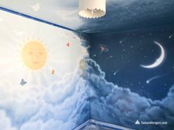 Night and Day mural by Tamara Hergert 5.