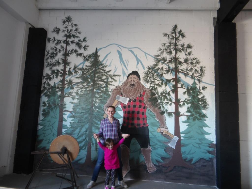 Axekickers mural by Tamara Hergert 6