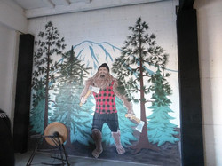 Axekickers mural by Tamara Hergert 7