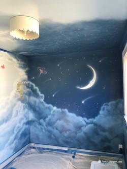 Night and Day mural by Tamara Hergert 7.
