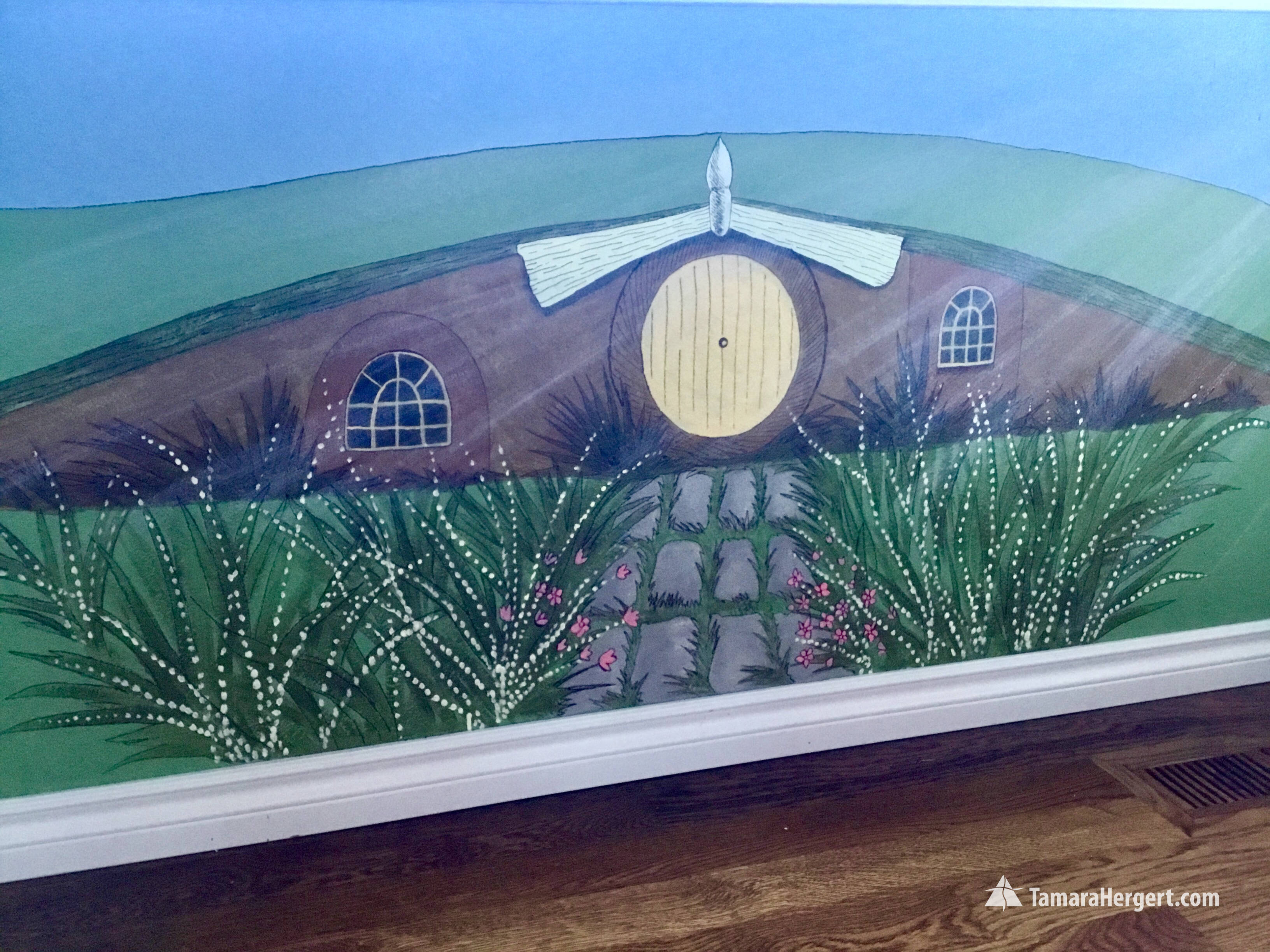 Story book mural by Tamara Hergert 6