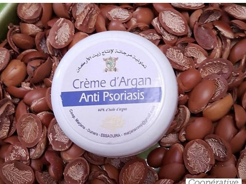 Anti-Psoriasis - Argan-based moisturizer