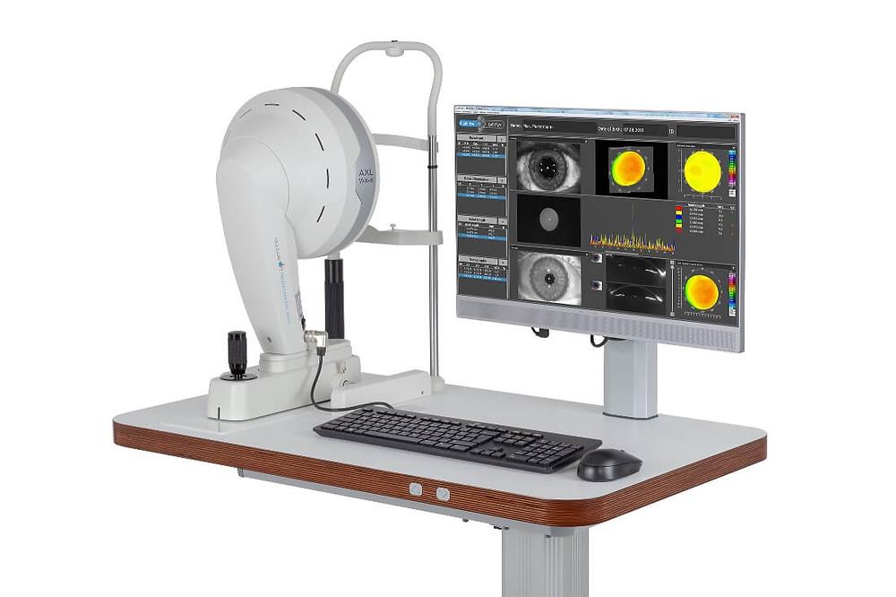 Το οφθαλμολογικό ιατρείο EYE UNIT είναι εξοπλισμένο με την προηγμένη και τελευταίας γενιάς φασματικής ανάλυσης οπτική τομογραφία Spectral Domain SOCT
