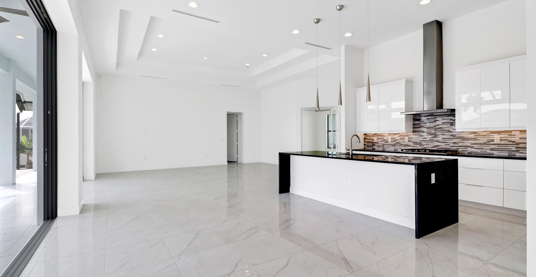 Jamaica Court home in Marco island Interior Kitchen / Living Area