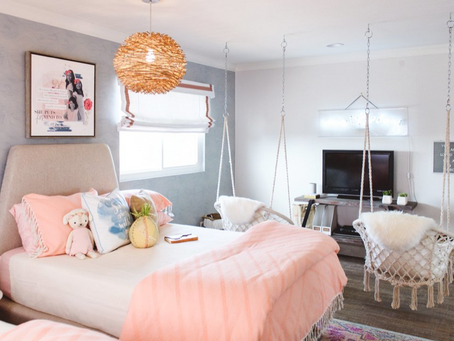 Savvy Giving by Design Volunteers Give Young Cancer Patient a New Dream Room