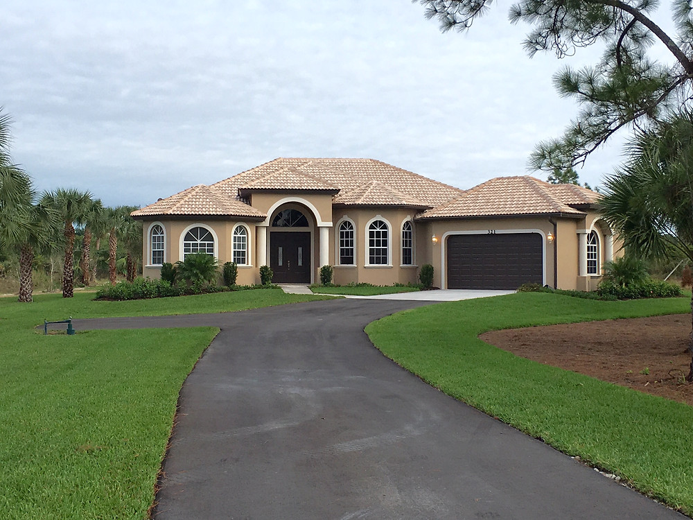 The Tuscany Model Home