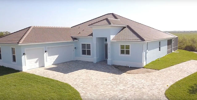 Community Built home in Eagle Lakes community in Naples by Nova Homes