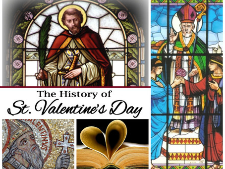 """The """"Surprising"""" History or Valentine's Day & Interesting Facts"""