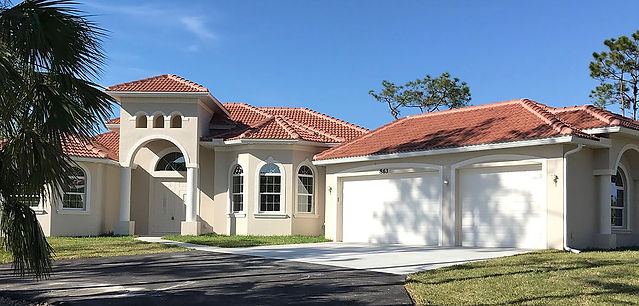 Beauiful Home built by Nova Homes of South Florida in Golden Gate Estates