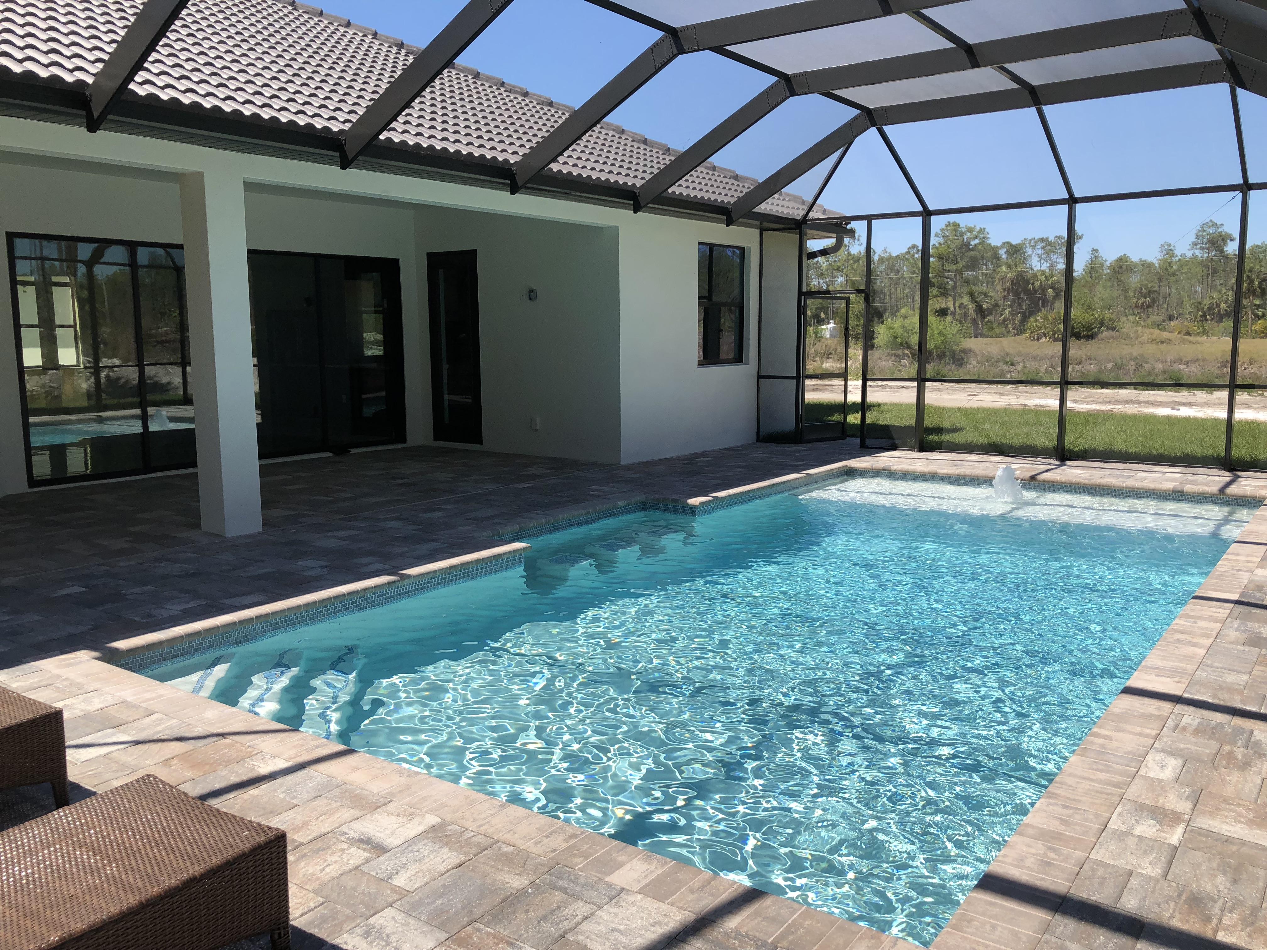 Marquesa Custom exterior pool deck
