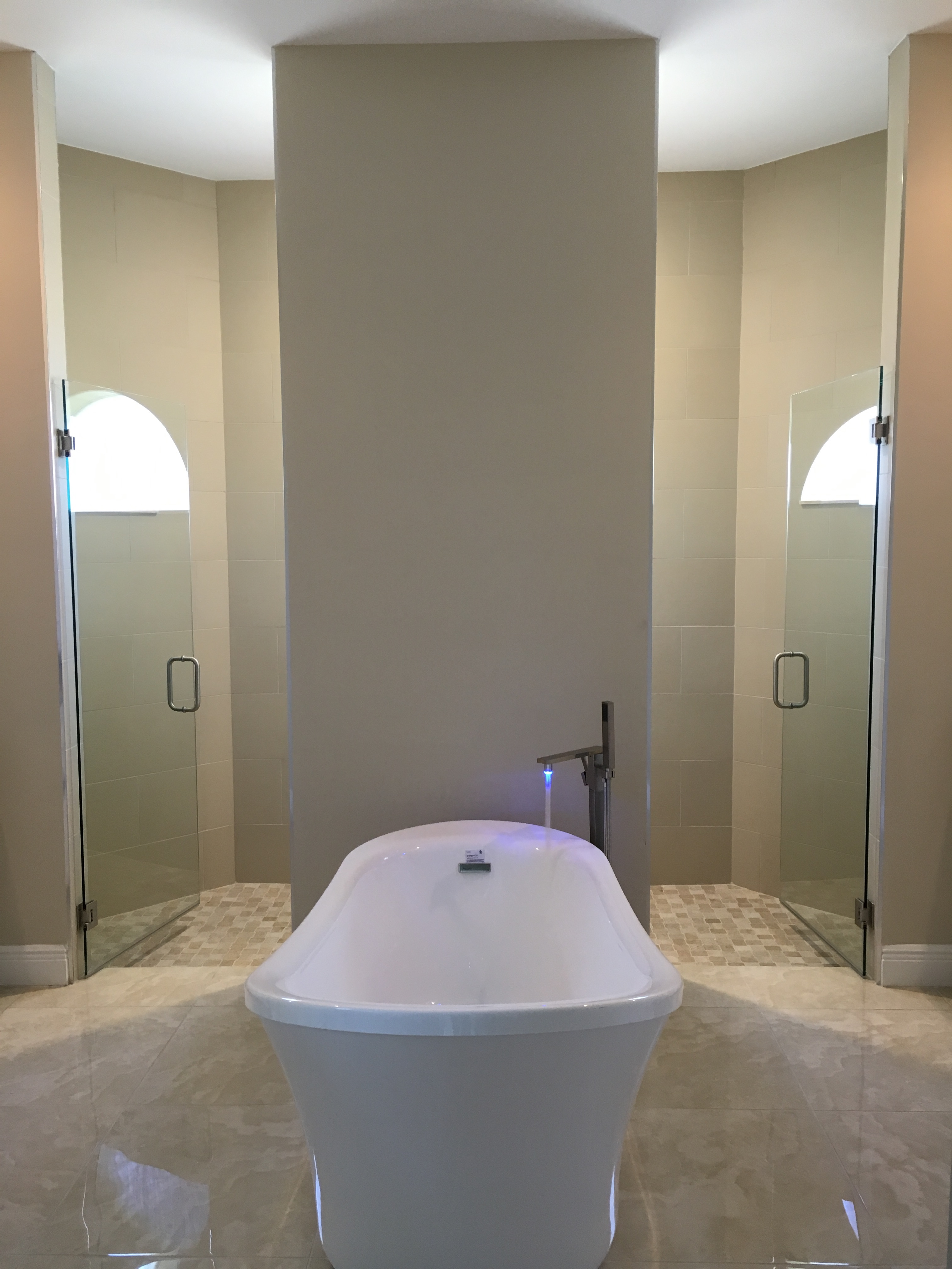 Marquesa Custom interior master bath