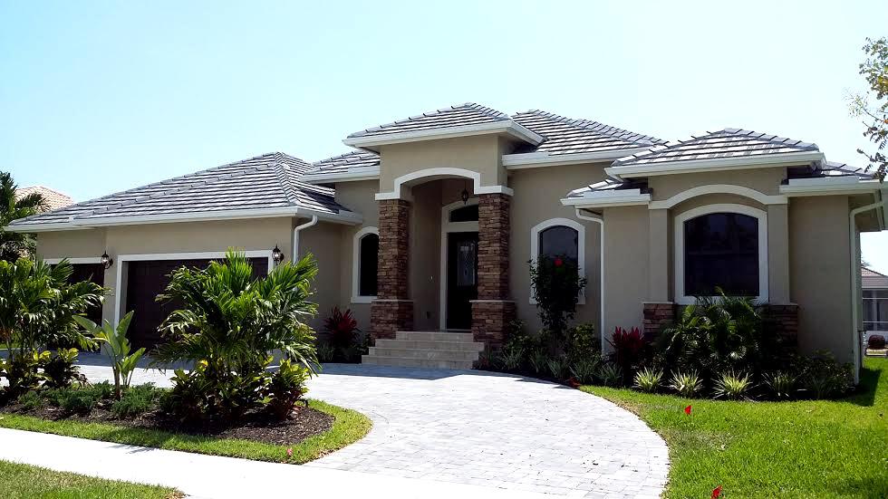 Marco Island Custom home exterior