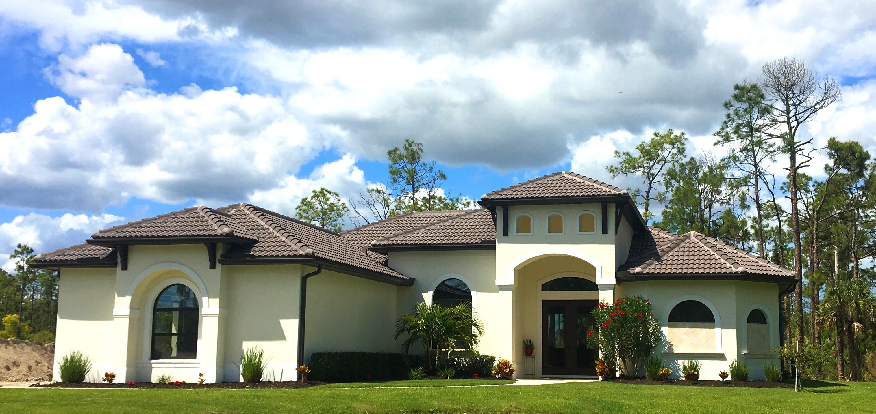 Marquesa Custom home exterior