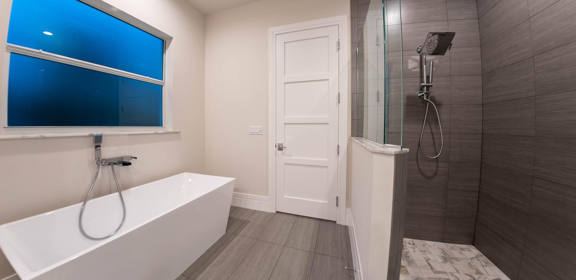Master Bath Shower / Tub