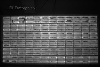 elektroluminiscence výstupní diagnostika