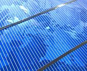 Multikrystalický fotovoltaický článek