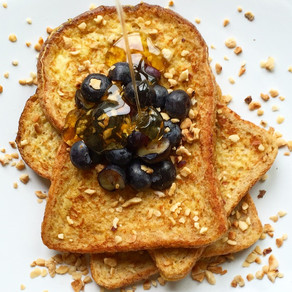 French Toast with Blueberry