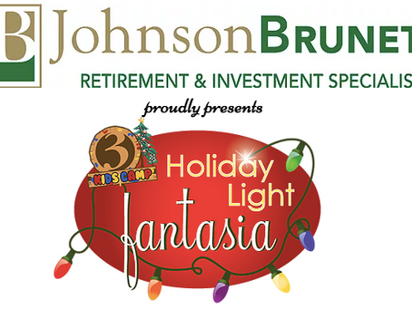 HOLIDAY LIGHT FANTASIA, PROUDLY PRESENTED BY JOHNSON BRUNETTI, RETURNS TO GOODWIN PARK THANKSGIVING