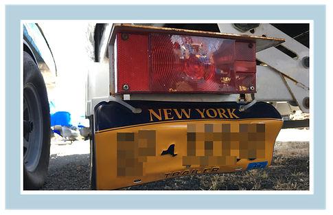 Direct Mount Trailer License Plate Failure