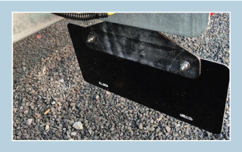 SurePlate(TM) EM16001 License Plate Holder Bracket