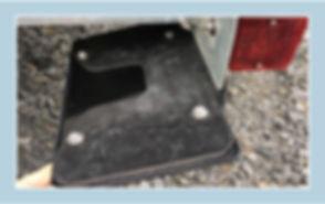 SurePlate(TM) DM16004 License Plate Holder Bracket