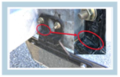Plastic License Plate Holder Failure, Plastic License Plate Bracket Failure