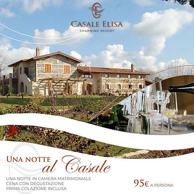 Casale elisa offerta weekend