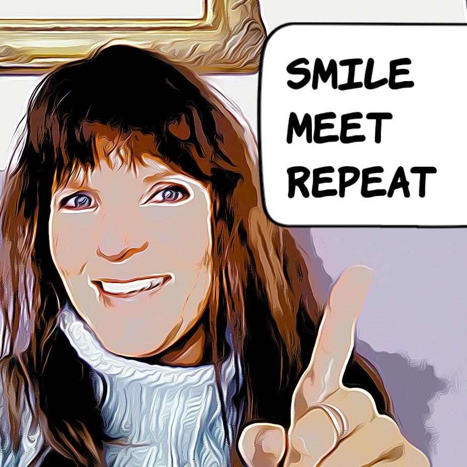 smile - meat -repeat Von Kirsten Surwehme