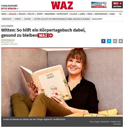 WAZ Witten Körpertagebuch 6.1.2021