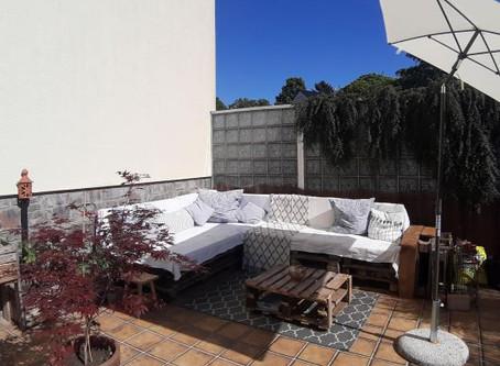 Paletten-Lounge selbstgemacht – für Faule