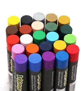 Oil pastel art class