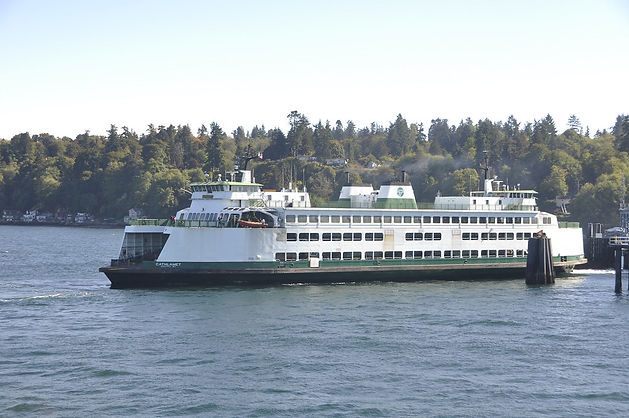 Washington State Ferry Cathlamet at Vash
