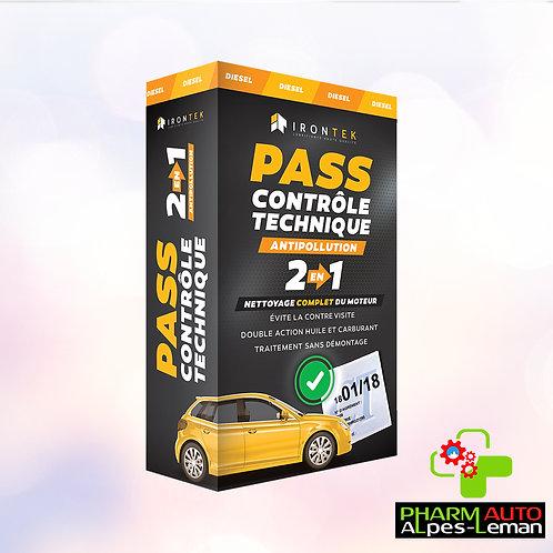 Pass Controle Technique Diesel - Antipollution