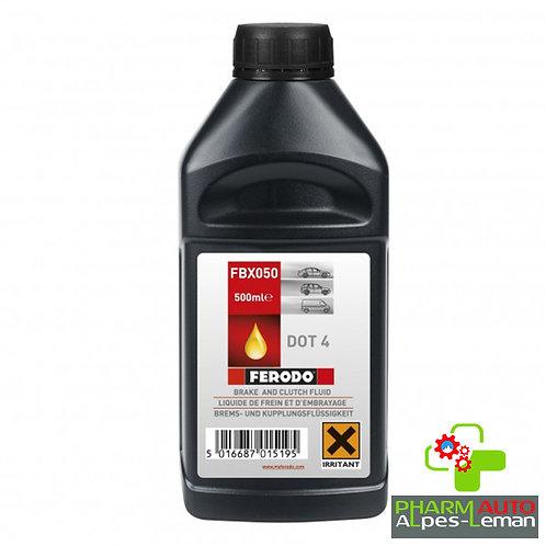 Liquide de Frein DOT4,  0.5L