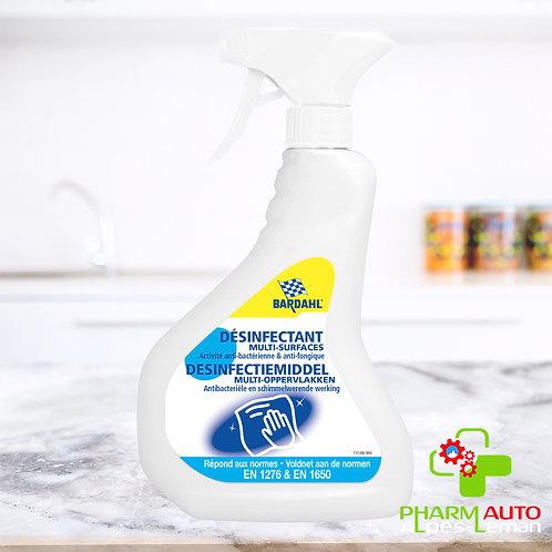 Nettoyant Désinfectant Multi-surfaces 500ml