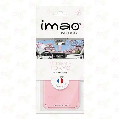 Carte parfumée Auto Printemps à Tokyo