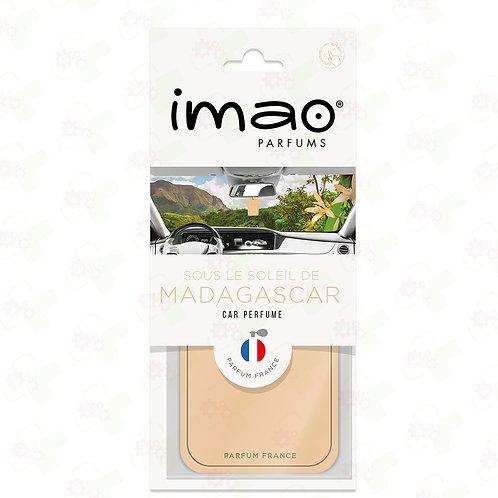 Carte parfumée Auto Vanille de Madagascar
