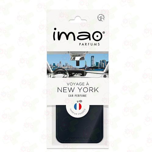 Carte parfumé Auto Voyage à New York
